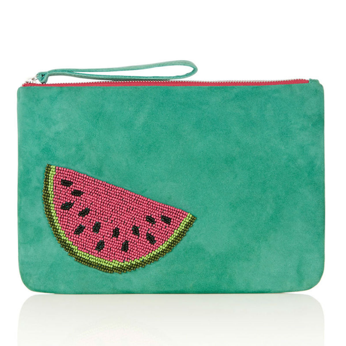 Watermelon clutch, £38, Oasis