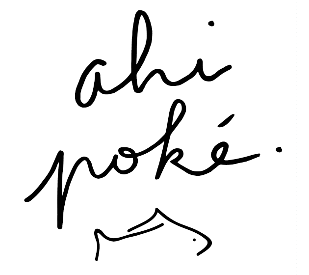 Ahi Poke Logo
