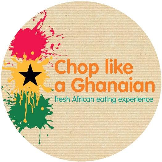 Chop Like a Ghanaian logo