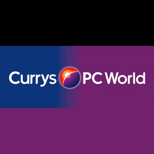 Currys PC World featuring Carphone Warehouse logo