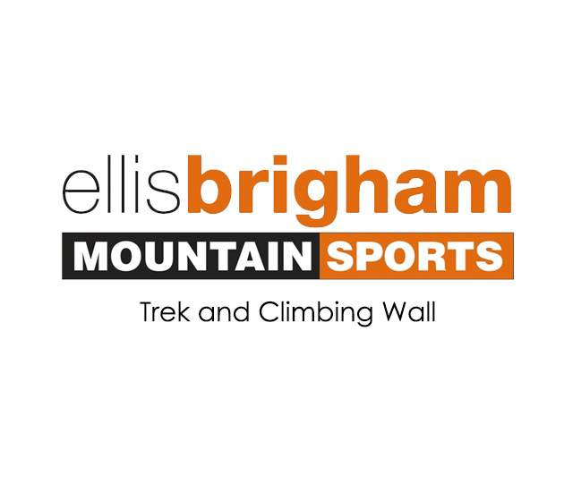 Ellis Brigham Trek and Climbing Wall Logo