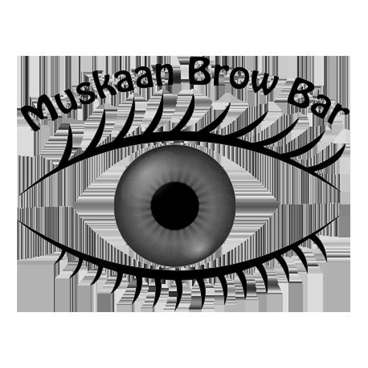 Muskaan Brow Bar logo