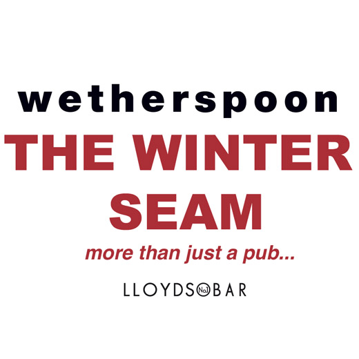 The Winter Seam Wetherspoon Xscape Logo