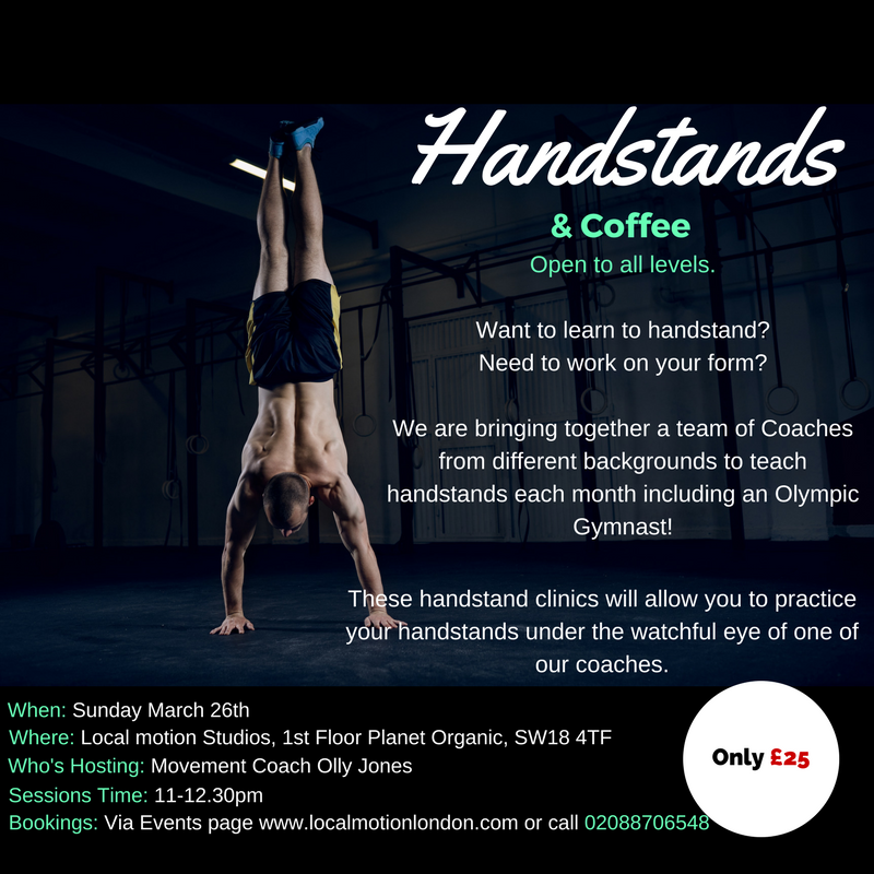 Handstands & Coffee at Planet Organic