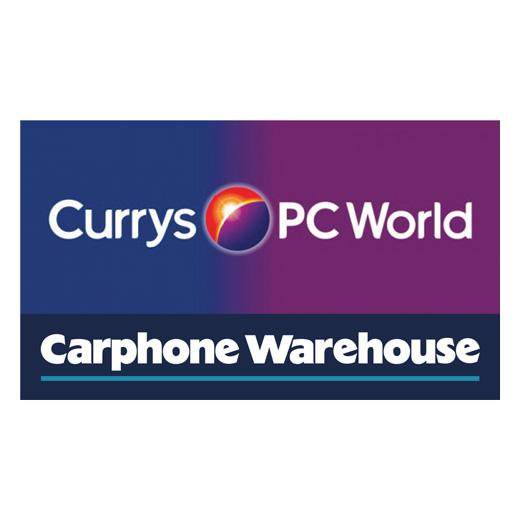 Curry's PC World Featuring Carphone Warehouse logo