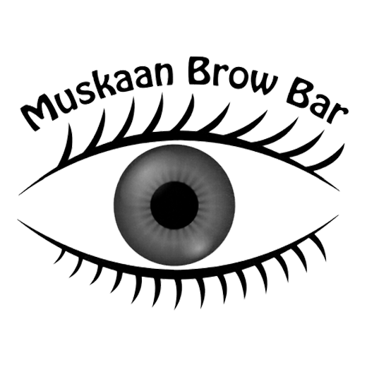 Muskaan Brow Bar logo