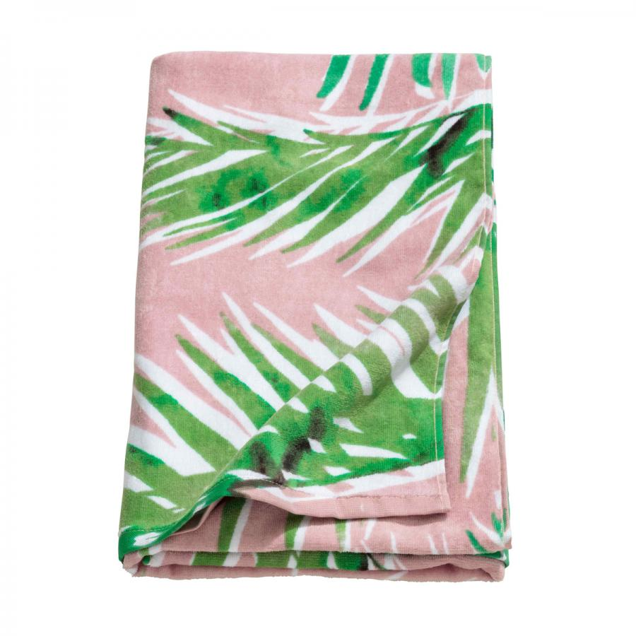 Heading to Southerndown, Swansea or somewhere sunny further afield? Don't forget to pack a beach towel! Pink palm print towel, £12.99, H&M