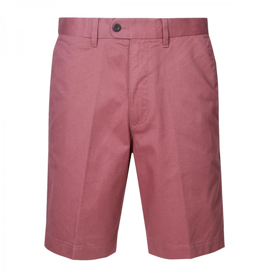 Raspberry pure cotton shorts, £25, Marks & Spencer