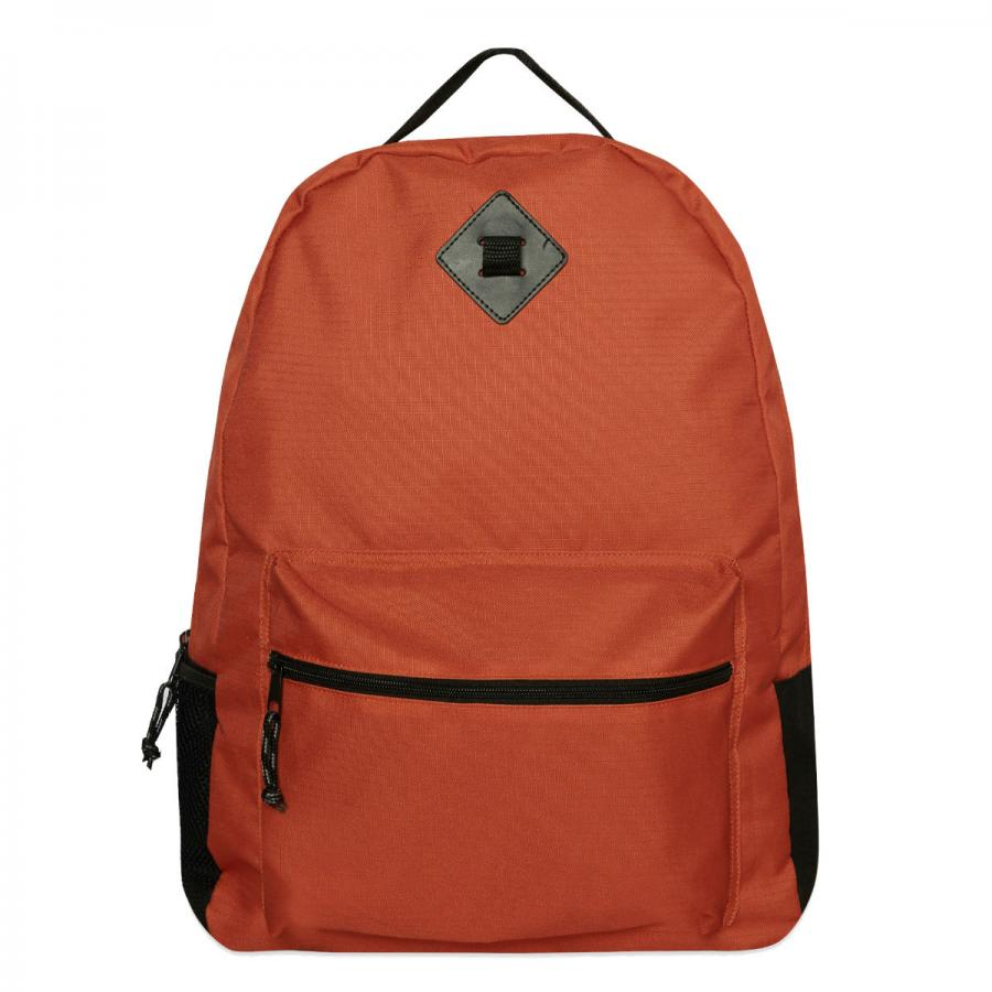 Orange backpack, £8, Primark