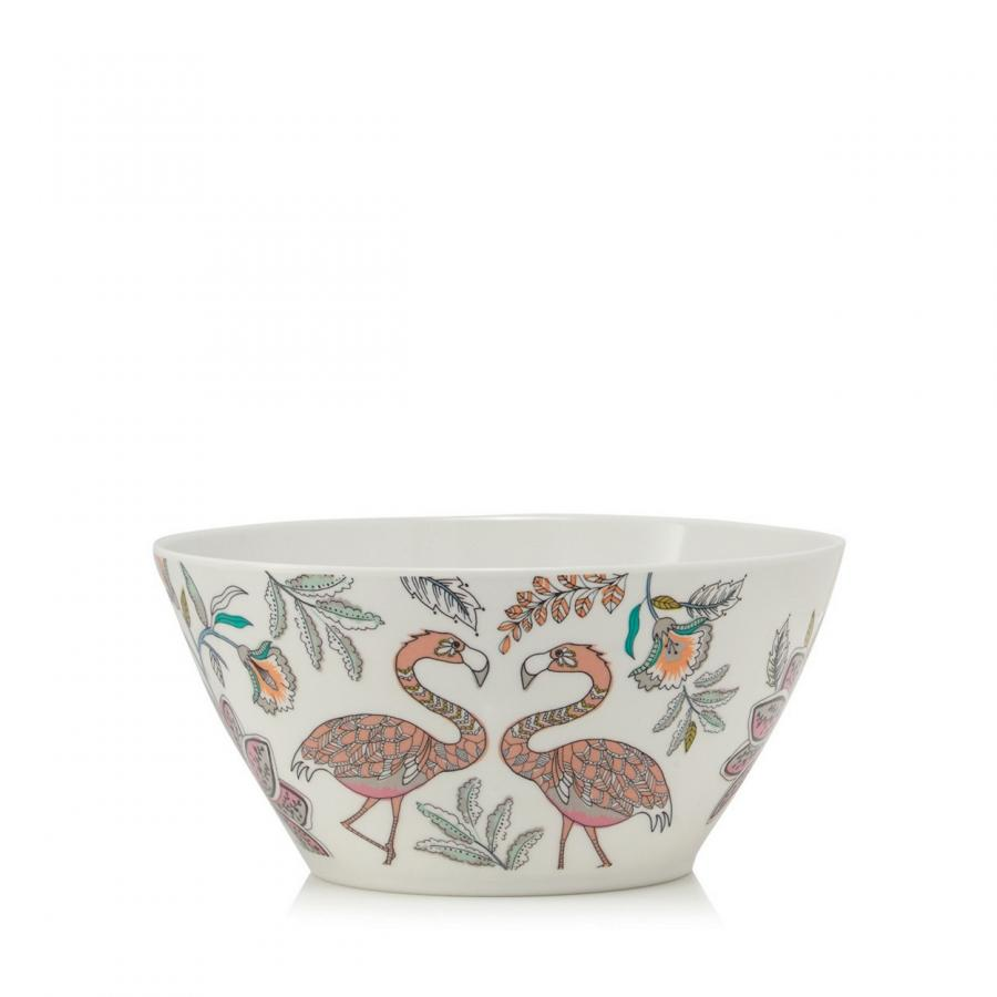 Perfect for picnics and garden parties, these floral and bird print melamine bowls, £20 for set of 4 from Debenhams, are on our wishlist this season.