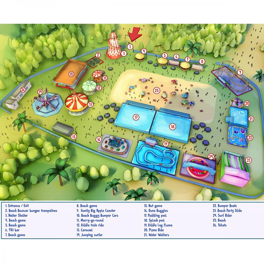 The Beach Map