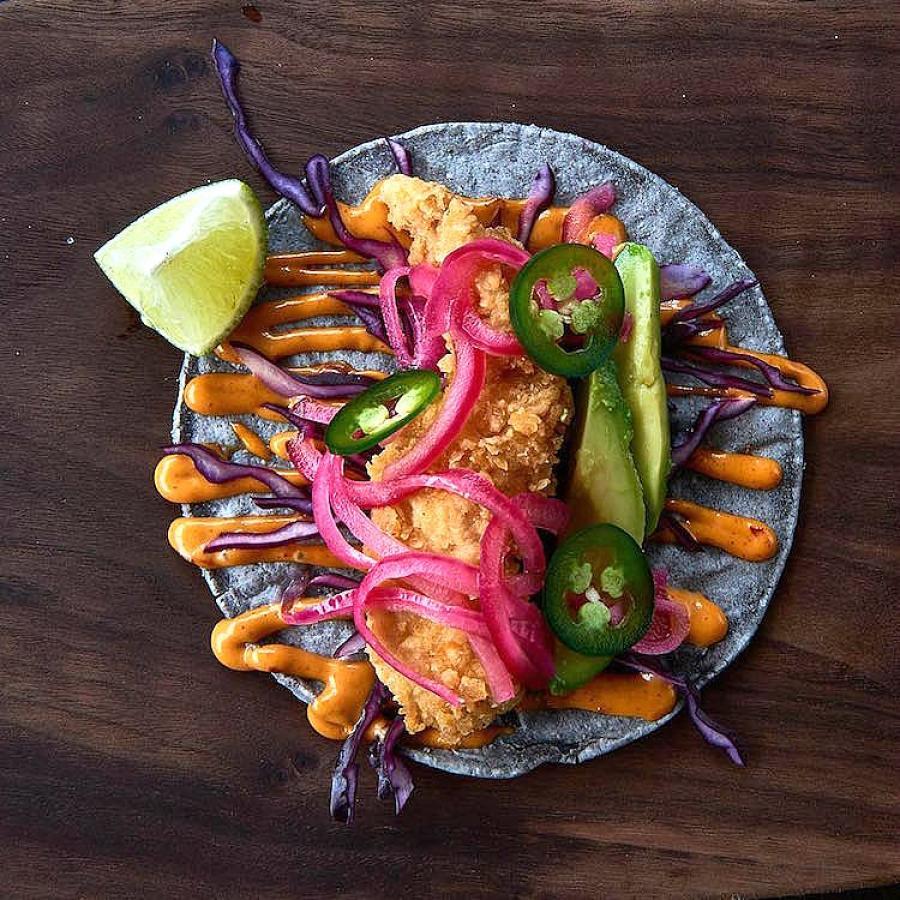 Tacos del Rey at Model Market