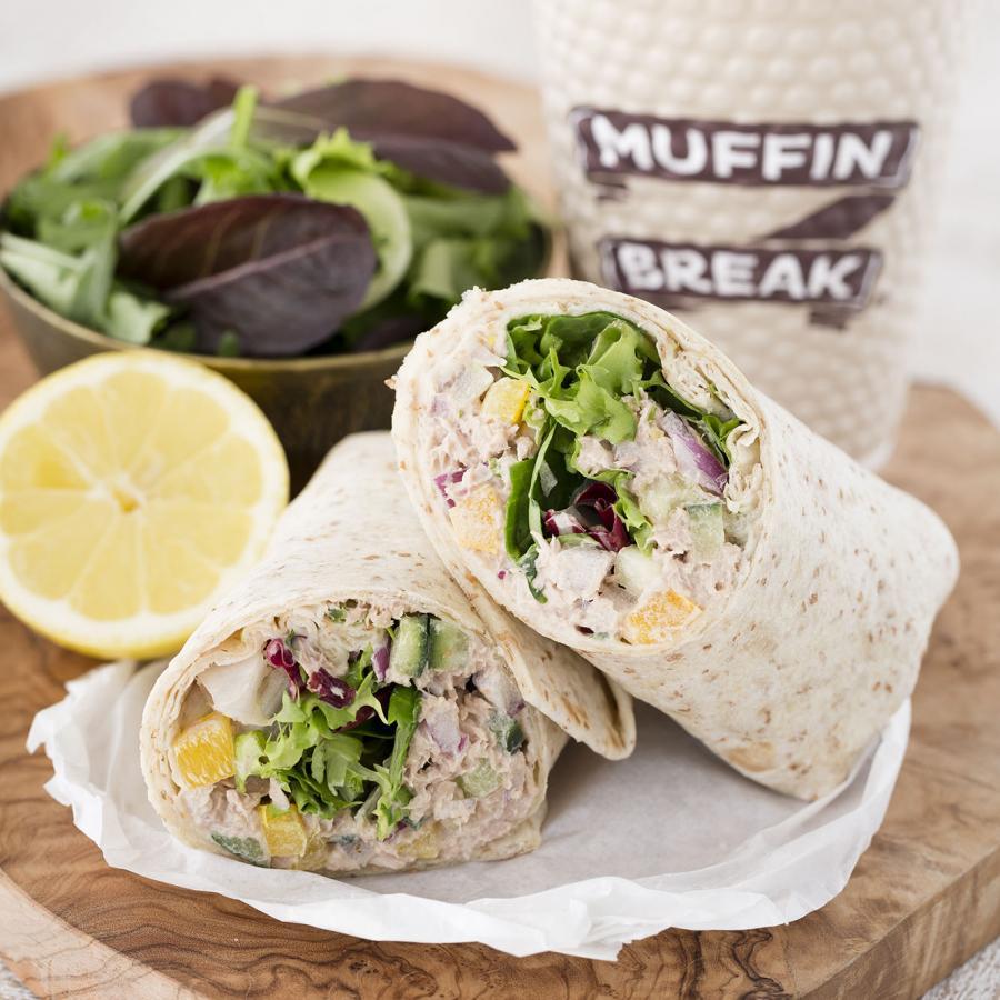 Muffin Break Tuna Crunch Wrap