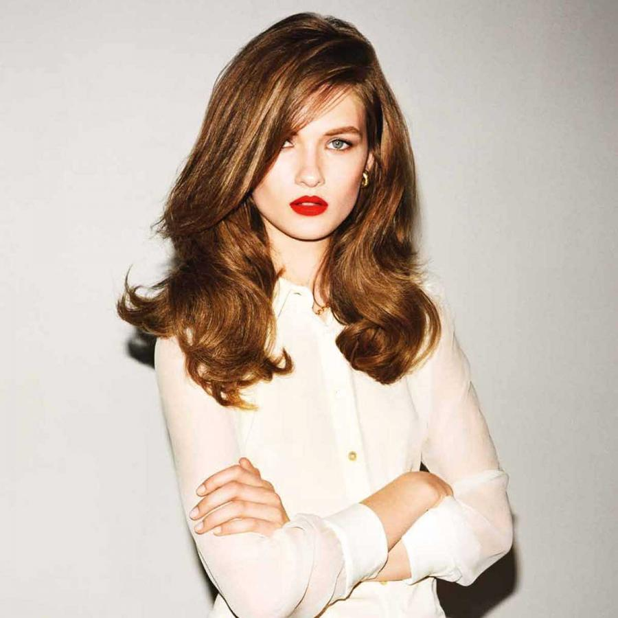 Half & half: Half groomed, half ungroomed - the modern way to rock a done do. Polished but without the bounce and flounce of a traditional blowdry.