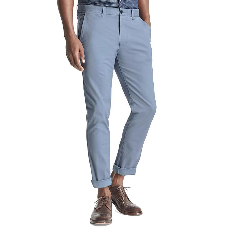 The casual trouser - Classic stretch skinny fit khakis, £39.95, Gap