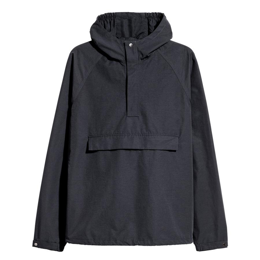 The daytime outer layer - Hooded zip-neck top, £49.99, H&M
