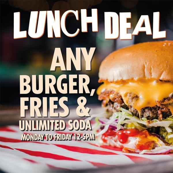 Meatliquor lunch deal
