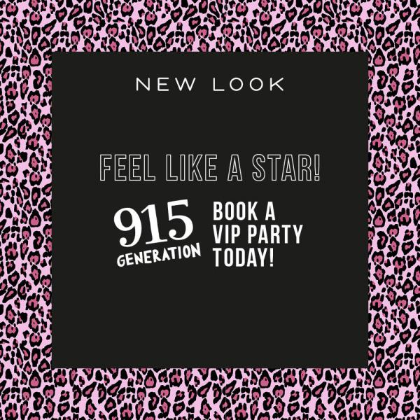 Get the VIP experience at New Look