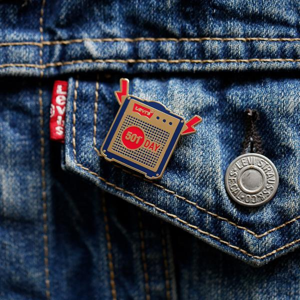 Levi's Limited Edition 501 Pin Collection