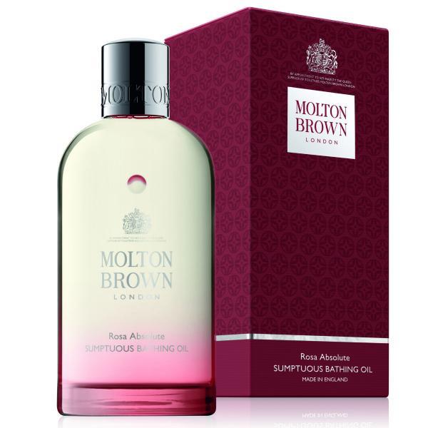 Molton Brown bathing oil