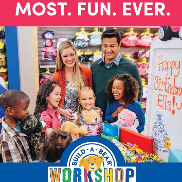 Party Packages at Build-A-Bear