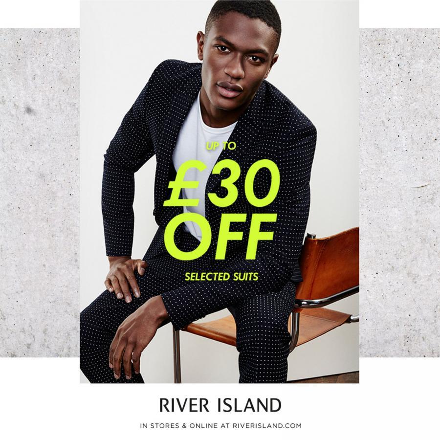 River Island Mens Suit Promotion