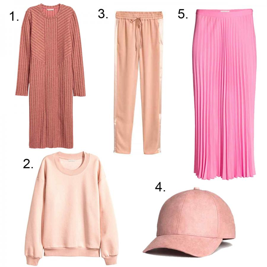 Womens H&M Pink Palette
